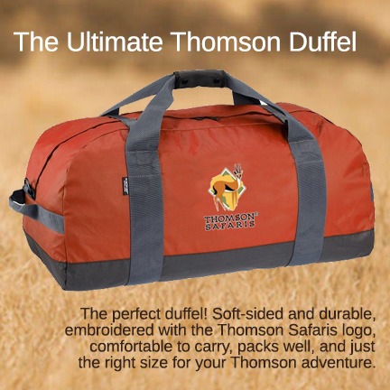 Thomson Safaris Duffel